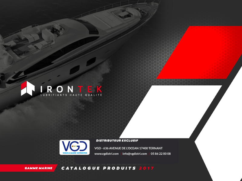Catalogue IRONTEK 2017 - VGDISTRI