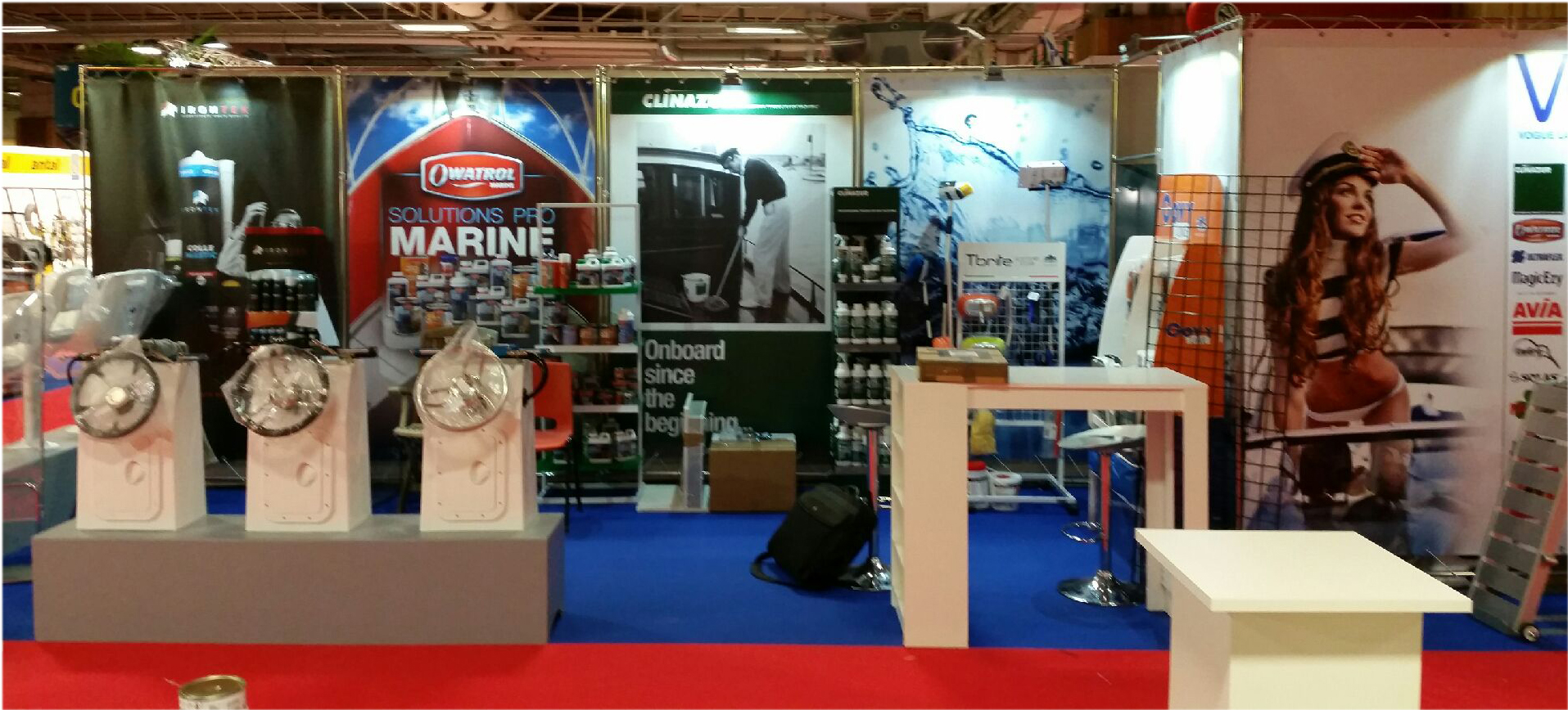 Retrouvez nous au salon nautic international de paris du 3 for Quel salon porte de versailles